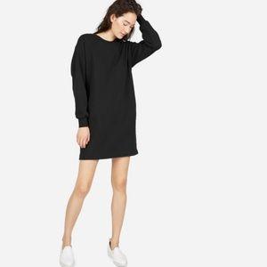 Everlane French Terry Sweatshirt Dress
